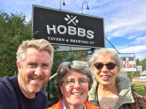 Knute Ogren, Theresa Swanick and Patricia Pustell