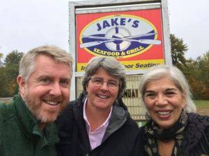 Knute Ogren, Theresa Swanick, Patricia Pustell